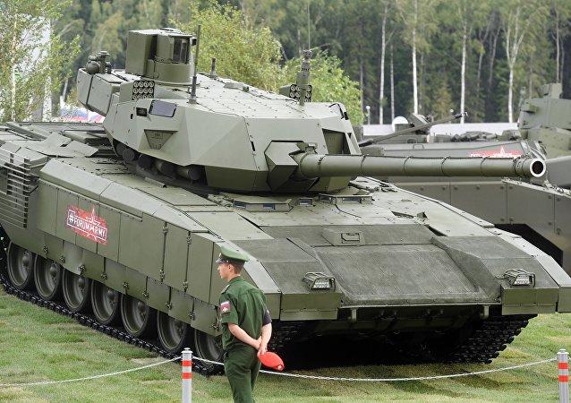 در استرالیا تانک روسی آرماتا را نابود می کنند + عکس