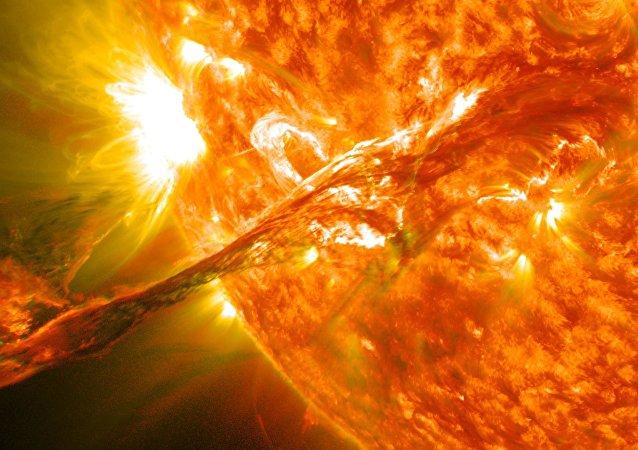 ثبت قدرتمندترین شراره خورشید از سال 2017 تا کنون
