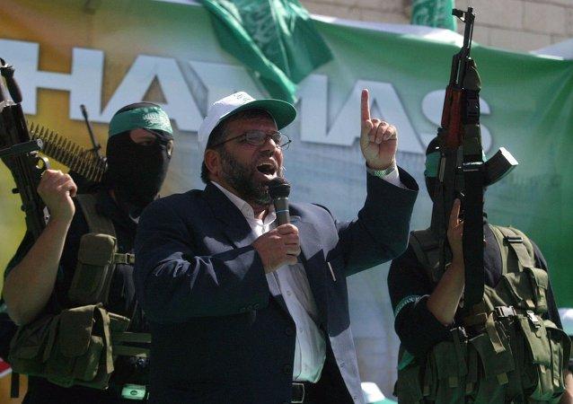 انتشار پیام ویدئویی داعش برای حماس