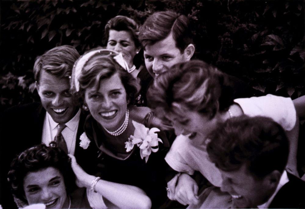 ژاکلین در روز عروسی اش