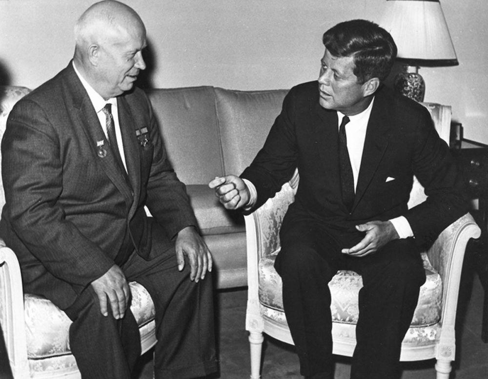 دیدار جان کندی و نیکیتا سرگیویچ خروشوف در وین