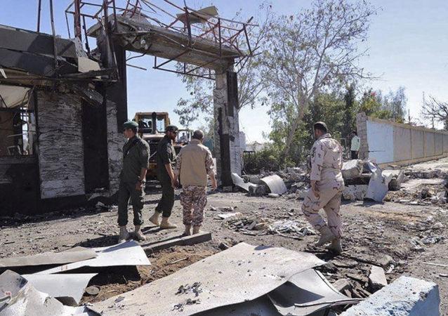 تشیع جان باختگان حادثه تروریستی چابهار + عکس