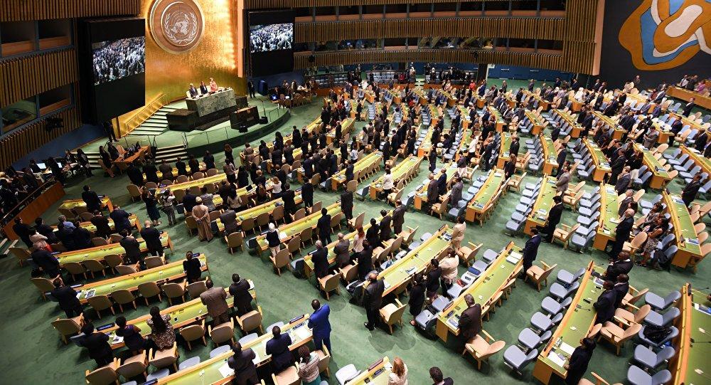 سازمان ملل متحد به آمریکا تعهدش را یادآوری می کند
