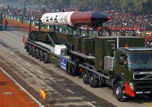 هند یک موشک بالستیک را با موفقیت پرتاب کرد