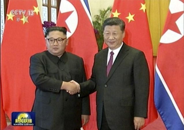 پیام دوستی رهبر کره شمالی به رهبر چین