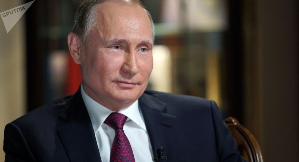 پوتین از خبرنگار شبکه NBC خواست وسط کلامش نپرد