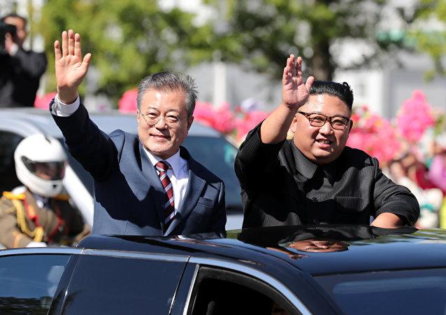 از سرگیری دوباره روابط کره شمالی و کره جنوبی