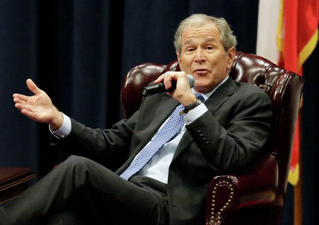 حق الزحمه صد هزاردلاری جرج دبلیو بوش به خاطر سخنرانی برای معلولان جنگ
