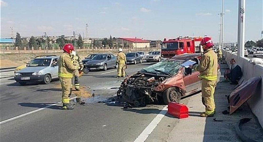 حادثه رانندگی در اصفهان ۱۵ مصدوم برجای گذاشت