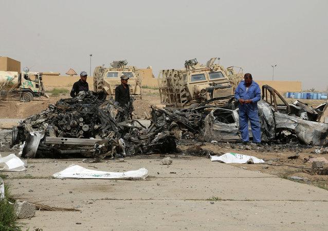 به گزارش منابع خبری، روز یکشنبه چند اتومبیل بمب گذاری در نقاط مختلف شهر بغداد شده پایتخت عراق منفجر شدند
