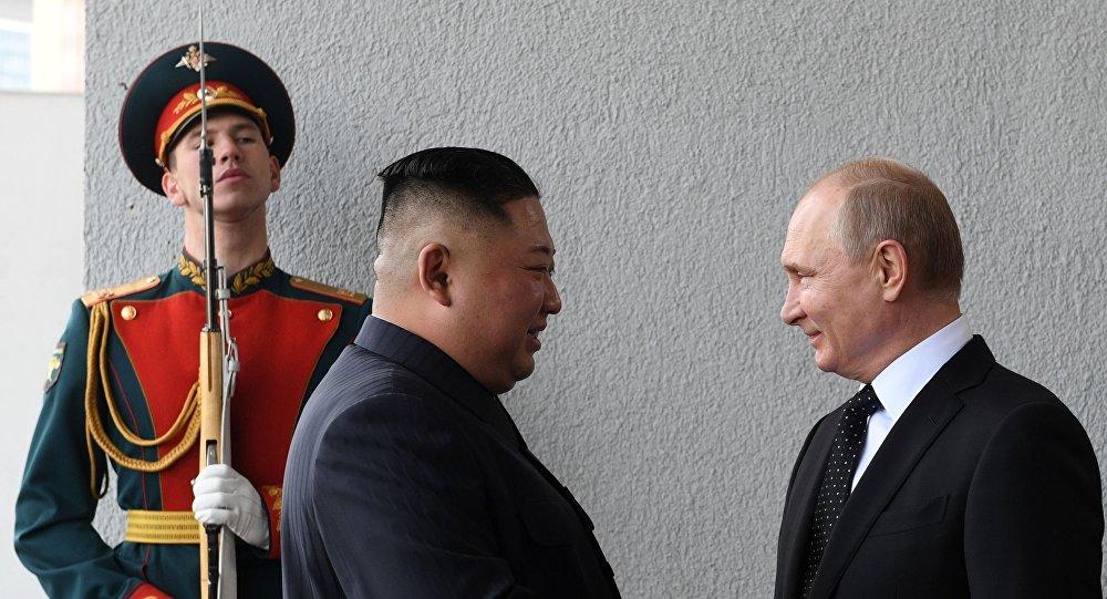 رهبر کره شمالی روز ملی روسیه را به پوتین تبریک گفت