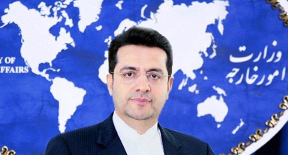 سیدعباس موسوی سخنگوی وزارت امور خارجه ایران