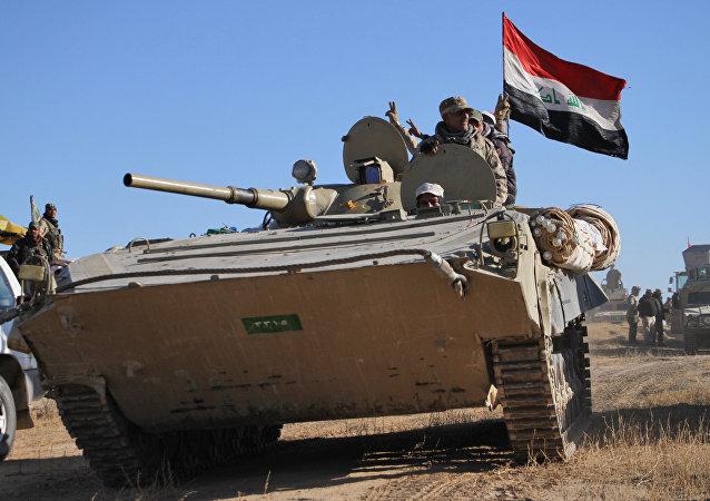 عملیات ارتش عراق به همراه حشد الشعبی علیه داعش