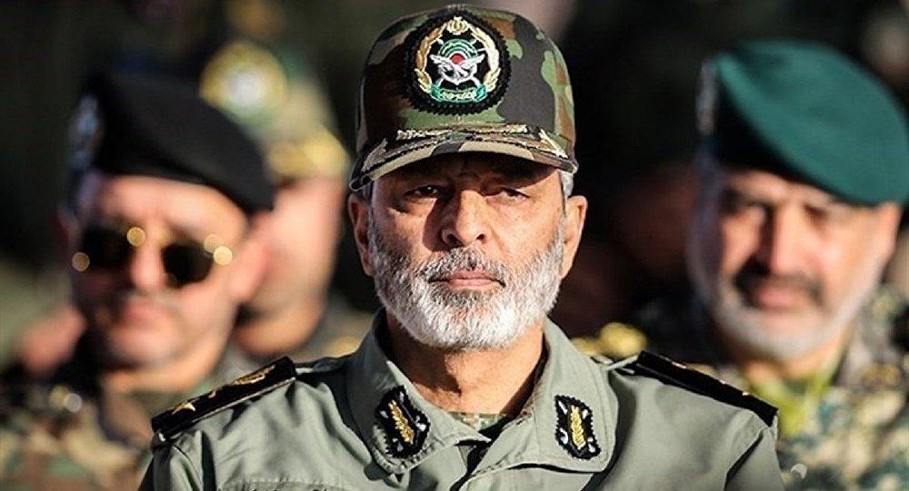 فرمانده کل ارتش ایران : رصدهای اطلاعاتی ما جنگ را نشان نمی دهند
