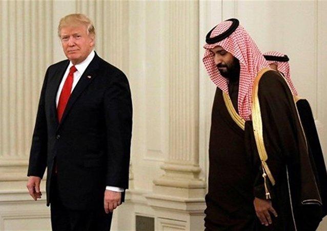 گفتگوی تلفنی ولیعهد عربستان با ترامپ درباره حادثه فلوریدا