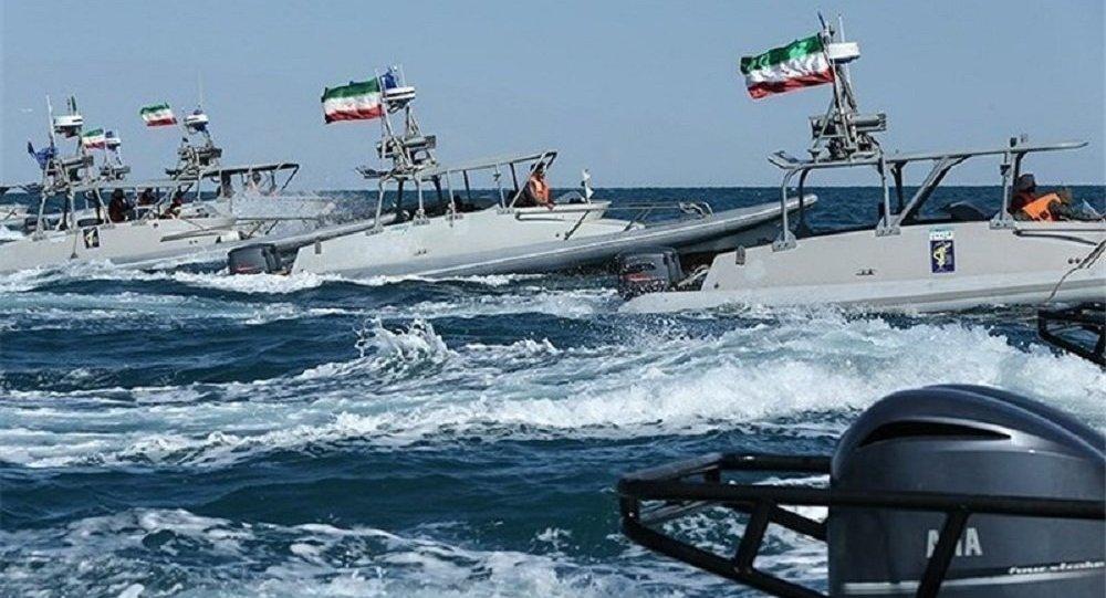 اقتدار نیروی دریایی سپاه در خلیج فارس + ویدئو