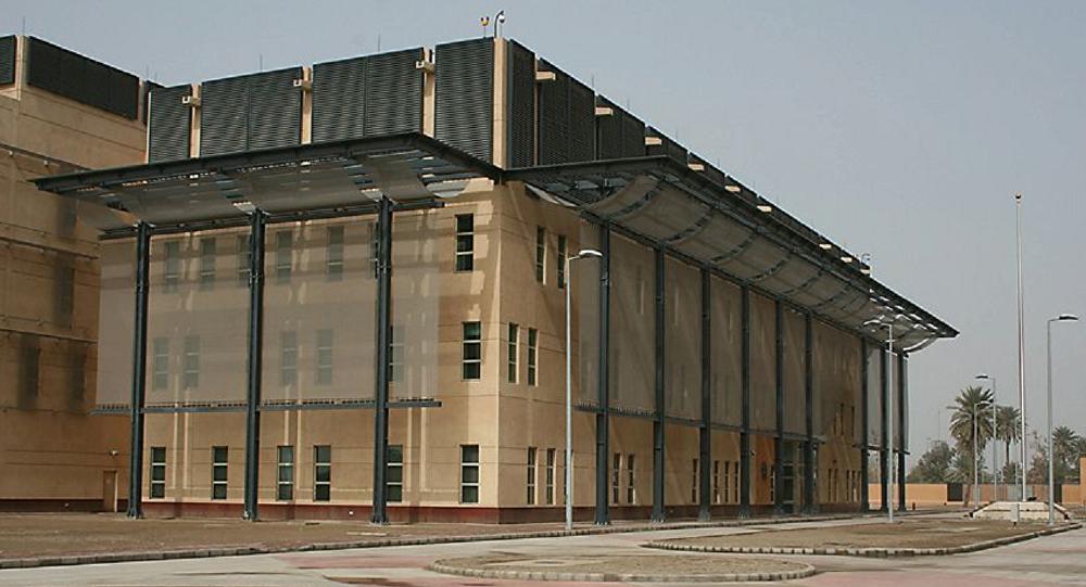 حملات راکتی و پهپادی به سفارت آمریکا در بغداد