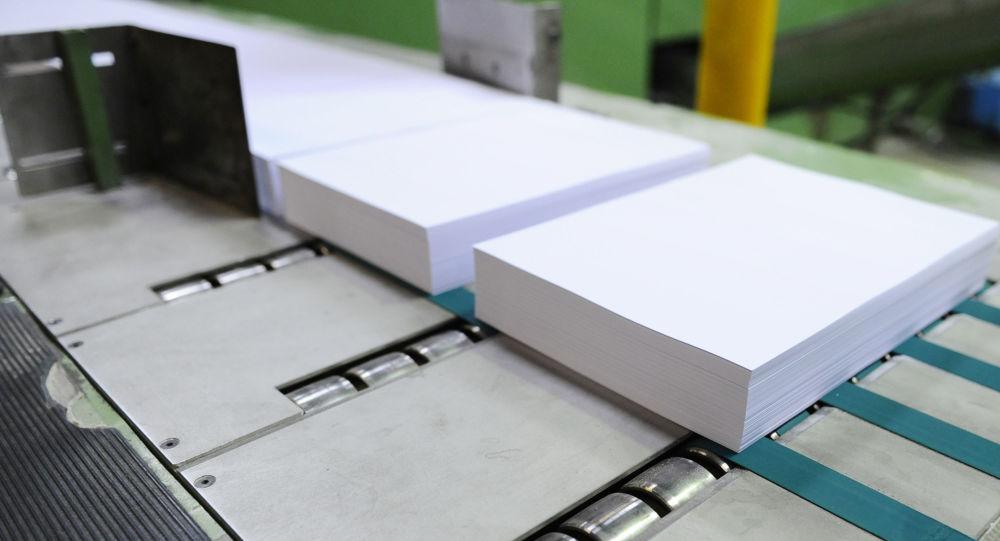 روند تولید کاغذ