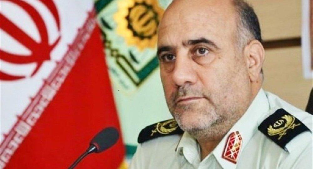 سردار حسین رحیمی، فرمانده انتظامی تهران بزرگ