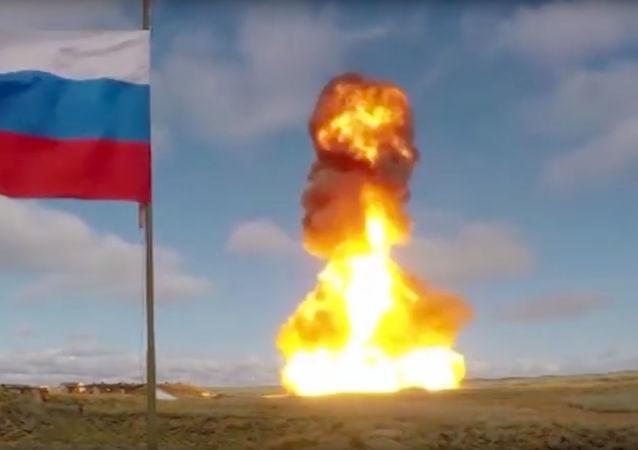 آزمایش موشک ضد بالستیک جدید در روسیه + ویدئو