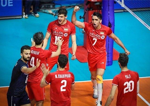 والیبال ایران در صدر آسیا قرار گرفت