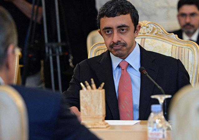 تکذیب خبر ترور وزیر خارجه امارات