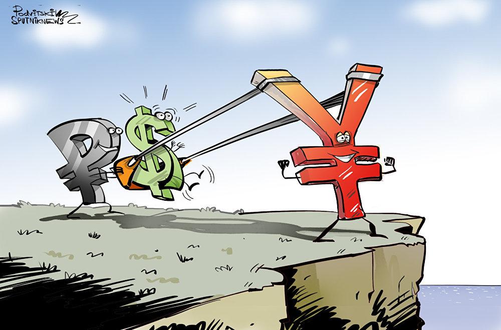 СМИ сообщают о подготовке отказа от доллара Россией и Китаем