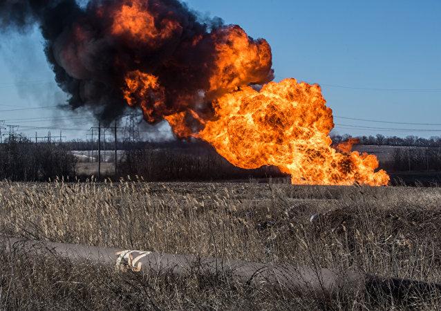 انفجار خط لوله گازی ایران – ترکیه به قطع انتقال گاز انجامید