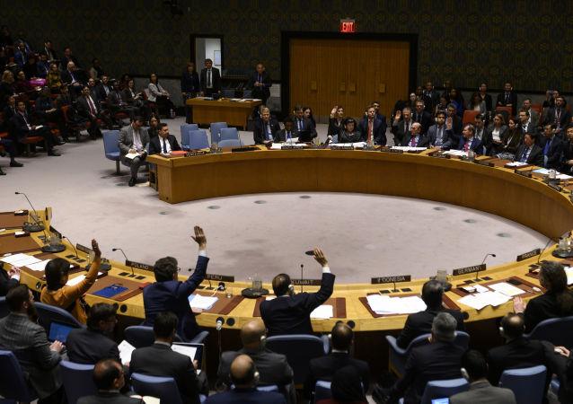 مقابله آمریکا با روسیه و چین در شورای امنیت