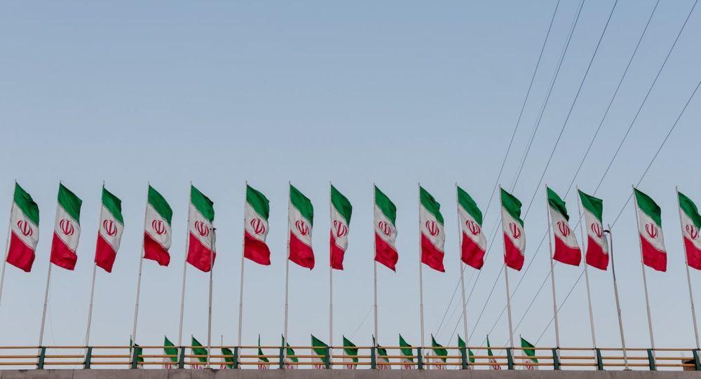 چرا پرچم ایران وارونه شده بود؟