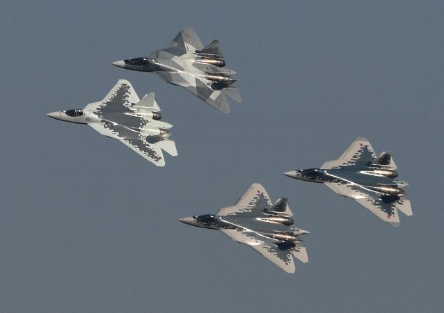 برتری سوخو-57 روسی بر اف-35 امریکایی