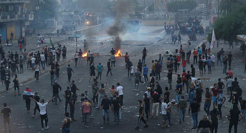تظاهرات عراقیها در حمایت از الحشد الشعبی