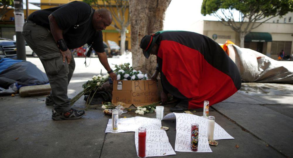 بی خانمان در لس آنجلس