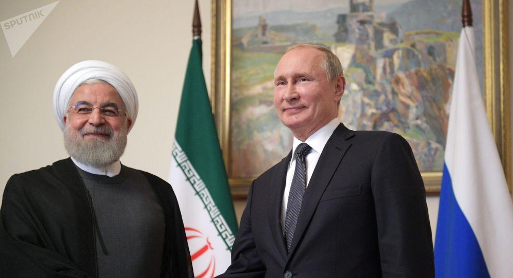 پیام تبریک نوروزی پوتین برای روحانی
