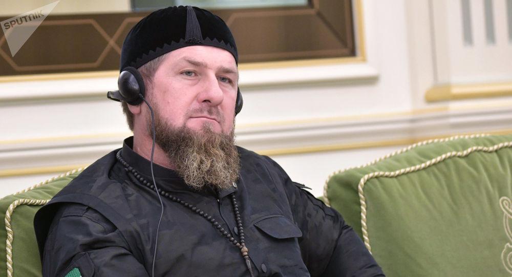 قدیروف پیام پوتین را به ولیعهد دوبی رساند+ فیلم