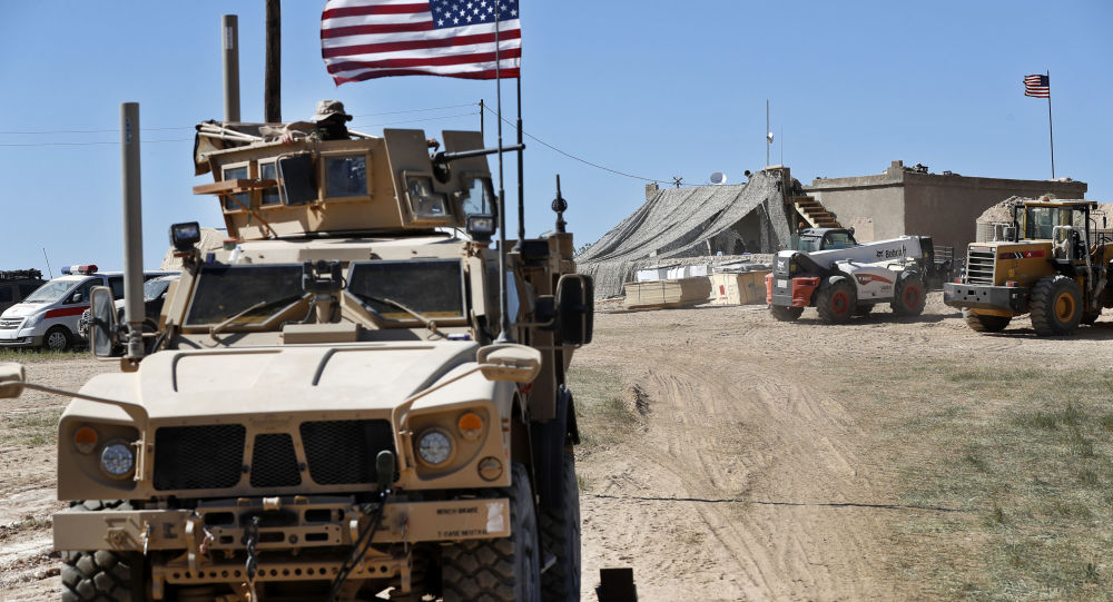 ورود بیش از 60 خودروی نظامی ائتلاف به پایگاه نظامی آمریکا در سوریه