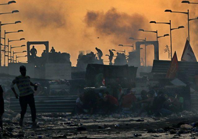 اعتراضات مردمی در برخی نقاط عراق بخاطر قطعی برق