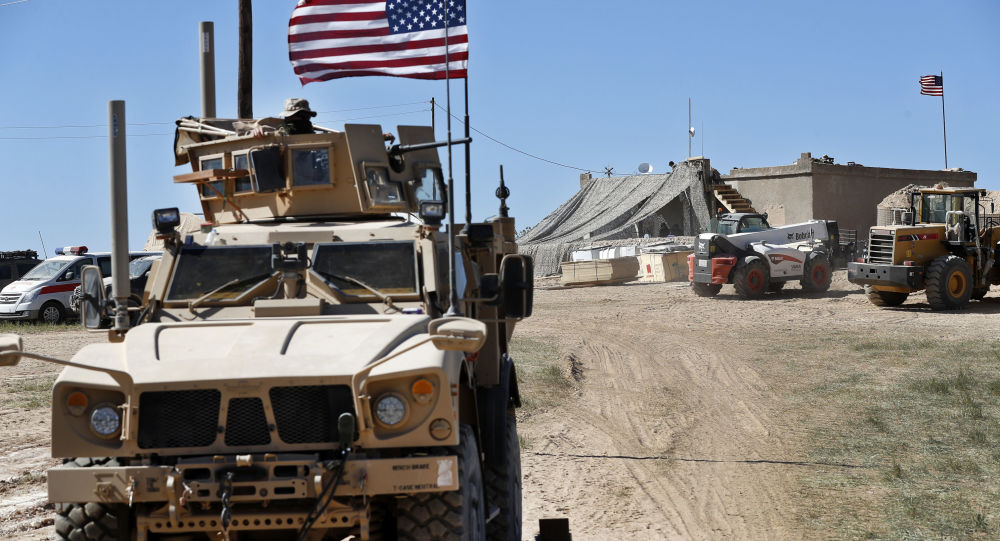 حمله موشکی به پایگاه آمریکا در سوریه