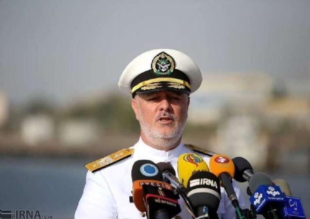 حسین خانزادی ، فرمانده نیروی دریایی ایران