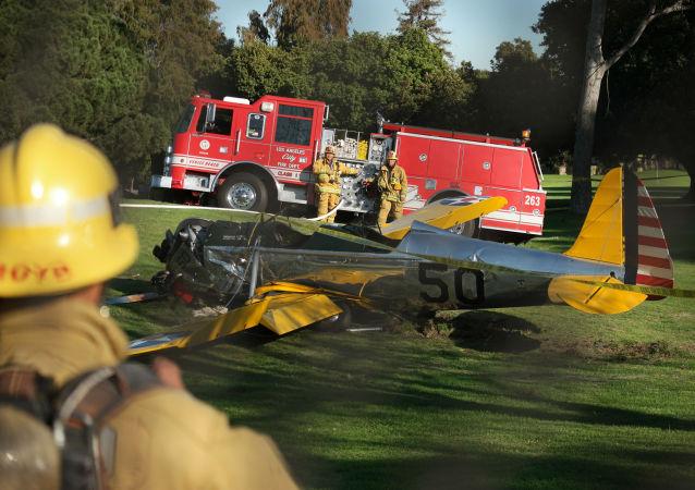 سقوط هواپیما در آمریکا، کشته و زخمی برجای گذاشت
