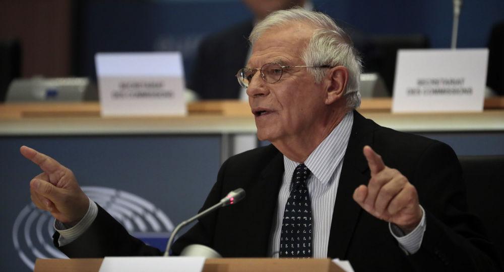 Josep Borrell جوزپ بورل