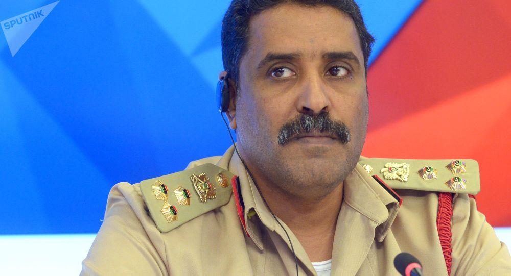 احمد المسماری سخنگوی ارتش ملی لیبی