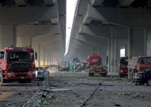 انفجار در چین