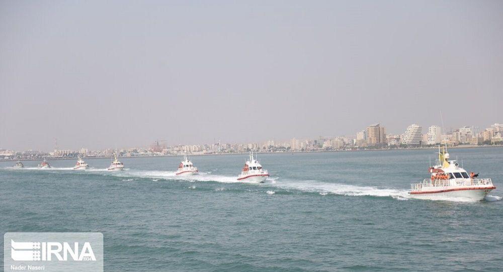رزمایش مشترک ایران، روسیه و چین در اقیانوس هند