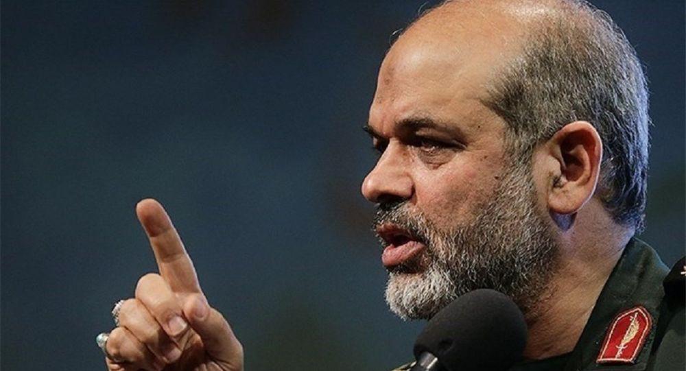 سردار وحیدی: آمریکا نمی تواند مانع پیشرفت ایران شود