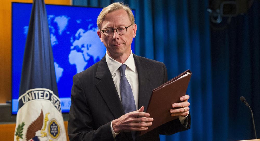 برایان هوک نماینده ویژه آمریکا در امور ایران.