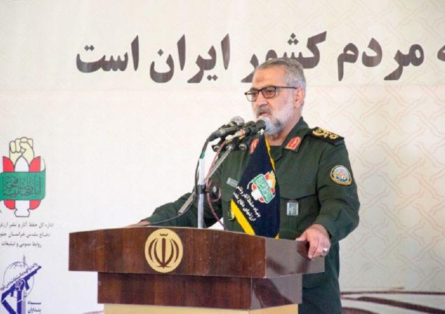 سردار ابوالفضل شکارچی سخنگوی ارشد نیروهای مسلح