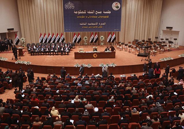 بررسی اخراج نیروهای آمریکایی درمجلس عراق