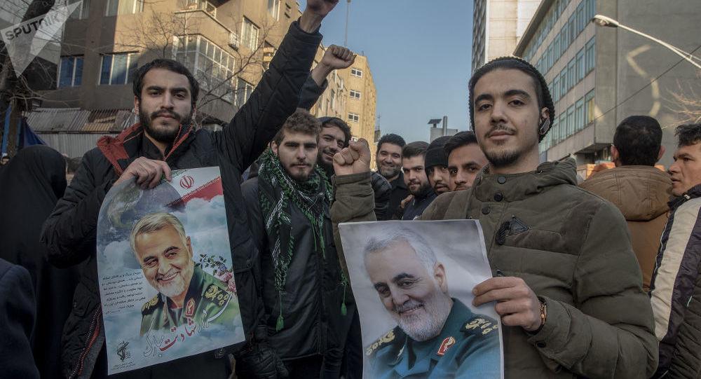 عملیات شهید سلیمانی، نمایشی بود که ایران و آمریکا آنرا اجرا کردند
