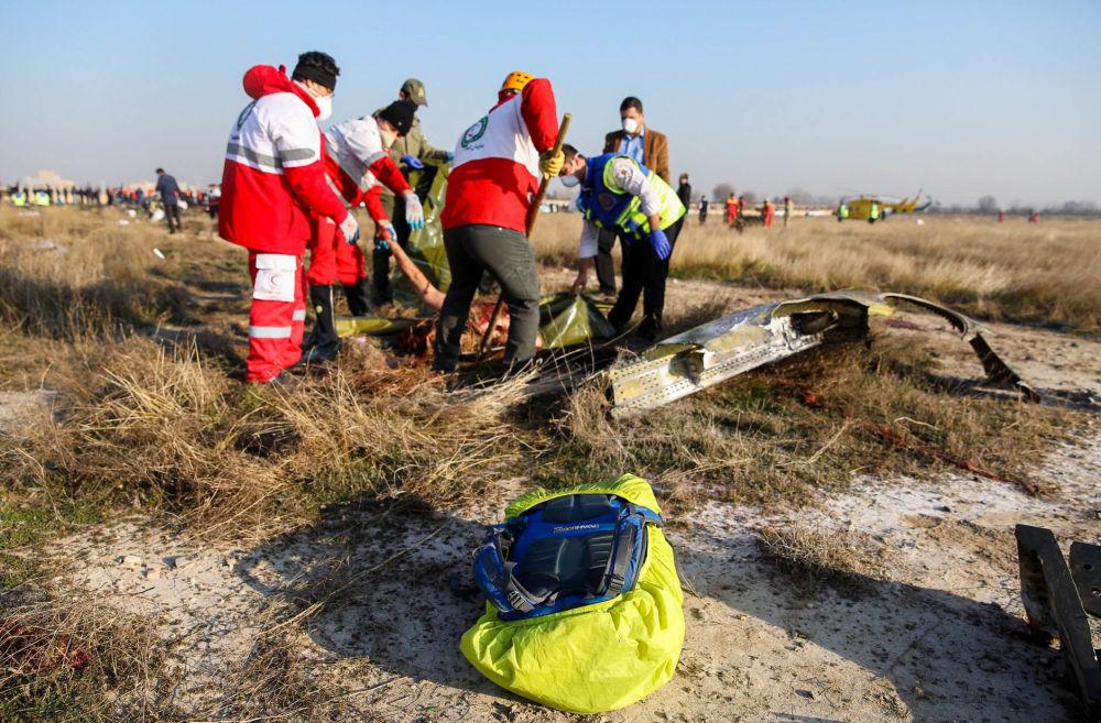 سقوط هواپیمای مسافربری اوکراینی در ایران